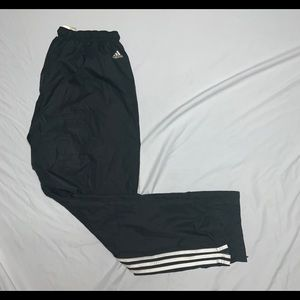 Adidas Athletic Ankle Zip Windbreaker Soccer Pants